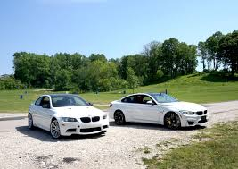 green bmw m4 bmw m4 vs e92 bmw m3 u2013 carmoods