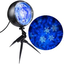 Holiday Brilliant Spectacular Light Show by Lightshow Applights Projection Spot Light Stake 37871 The Home Depot