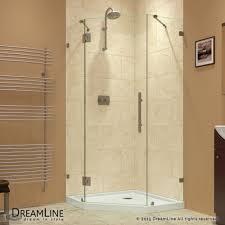 40 Inch Shower Door Malta Bath Cavern 40 Inch Neo Angle Frameless Door Base The
