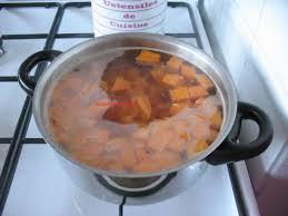 cuisiner des chataignes purée de patates douces aux châtaignes la cuisine de cécile