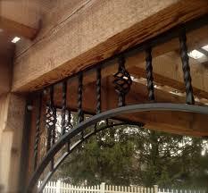 toronto wrought iron pergola patio modern with deck lighting