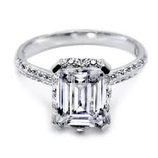 solitaire engagement ring tacori platinum solitaire engagement ring 2504emp9x7 tq diamonds