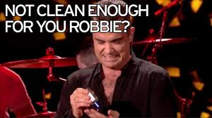 Sofa King Snl by Robbie Williams Finally Responds To New Year U0027s Eve Hand Sanitiser