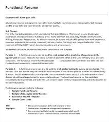 functional format resume template functional resume sles krida info