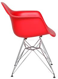 charles e style dar abs plastic dining arm chair style
