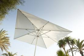 Palm Tree Patio Umbrella Acrylic Fabric Patio Umbrella Aluminum Costa Jardinico