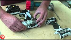 how to repair the leaf spring on a makita power drill youtube
