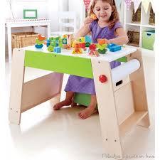 coffre a jouet bureau tabouret coffre de jouets table plateau jeu hape sur violet concept
