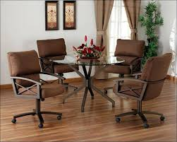 kitchen table and chairs with wheels kitchen table with swivel chairs full size of chair wheels french