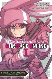 Fabuloso Sword Art Online Alternative Gun Gale Online, Vol. 1 (Manga) #ZE95