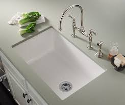 Single Undermount Kitchen Sinks Inspiring Remodelling Home Office - White undermount kitchen sinks