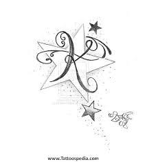 letter k butterfly 4