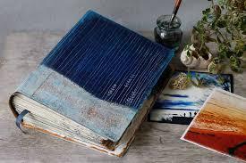 Photo Album Guest Book Of The Sea Hardback Indigo Photo Album Scrapbook Journal Or
