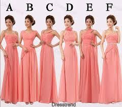 bridesmaid dresses coral coral bridesmaid dress bridesmaid dresses the colors