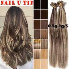 bonded hair extensions pre bonded hair extensions ebay