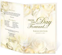 wedding program design template 122 best wedding tables programs favors images on