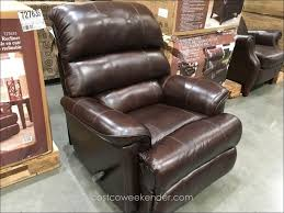 furniture magnificent power recliner chairs costco synergy