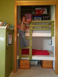 Free Plans For Building A Bunk Bed by Diy Unique Built In Bunk Beds They Call Me Granola