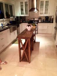 narrow kitchen island table best 25 narrow kitchen island ideas on small kitchen