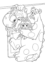 Monsters Inc Coloring Pages Fablesfromthefriends Com Coloring Pages Monsters