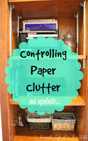 simple life of a fire wife spring cleaning paper clutter update