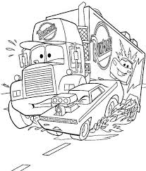free transportation cars movie coloring pages kids