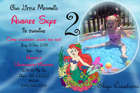 goody u0027s home facebook little mermaid party invitations free free printable invitation