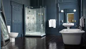 Blue Bathroom Fixtures by Shades Of Grey