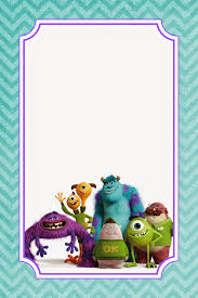 monster invitation appetizer for a crafty mind free monsters university food label