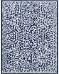 Outdoor Blue Rug Deals On 7 X10 Outdoor Rug Tapestry Blue Threshold Blue White