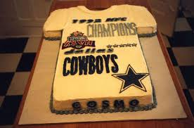 birthday cake dallas cowboy t shirt for cosmo cakecentral com