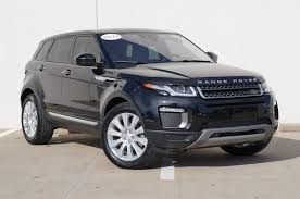 land rover evoque 2017 new and used land rover range rover evoque for sale in dallas tx