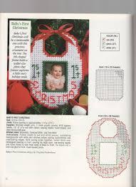 baby u0027s first christmas plastic canvas pinterest plastic