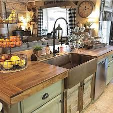 Kitchen Island Country See This Instagram Photo By Decorsteals 5 450 Likes Craftsman
