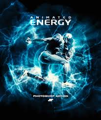 Photoshop Light Effects Gif Animated Energy Light Effects Photoshop Action By Sreda