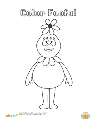 foofa coloring page my blog
