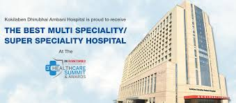 india u0027s best multispeciality hospital in mumbai kokilaben hospital