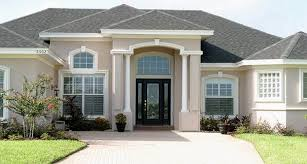 grey stone and stucco exterior houses google search home