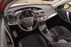 Mazda 3 Interior 2015 2013 Mazda Mazdaspeed 3 Touring Editors U0027 Notebook Automobile