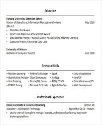 21 banking resume templates free u0026 premium templates