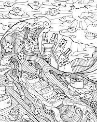 amazon com cinnamon bun dreams a comfort food coloring book