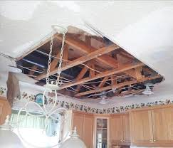 Ceiling Water Damage Repair by Water Damage Cleanup Repair And Restoration Servpro Of St
