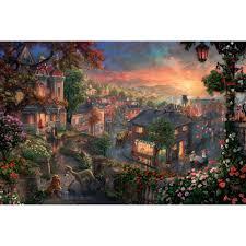 fantasia u2013 limited edition art the thomas kinkade company