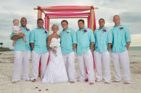tropical wedding attire trendy wedding attire for the groom and groomsmen
