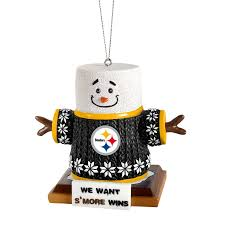 pittsburgh steelers smores ornament