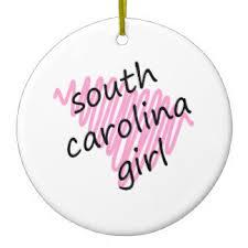 born in south carolina ornaments keepsake ornaments zazzle