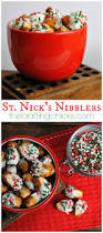 Christmas Snack Recipes For Gifts St Nick U0027s Nibblers The Easiest Chocolate Covered Pretzels The