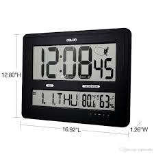 baldr jumbo digital wall clocks with big time display time zone
