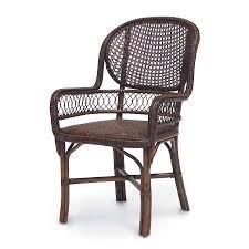 antique cane arm chair 7105