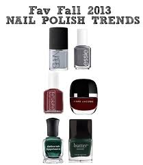 nail polish trends for fall 2013 glasses and glitter